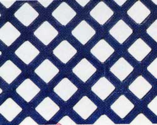 Lamiere foro quadro in diagonale (rombo).